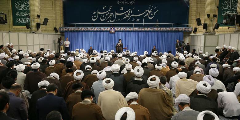 بیانات رهبر معظم انقلاب اسلامی در ابتدای جلسه درس خارج فقه درباره فجایع میانمار