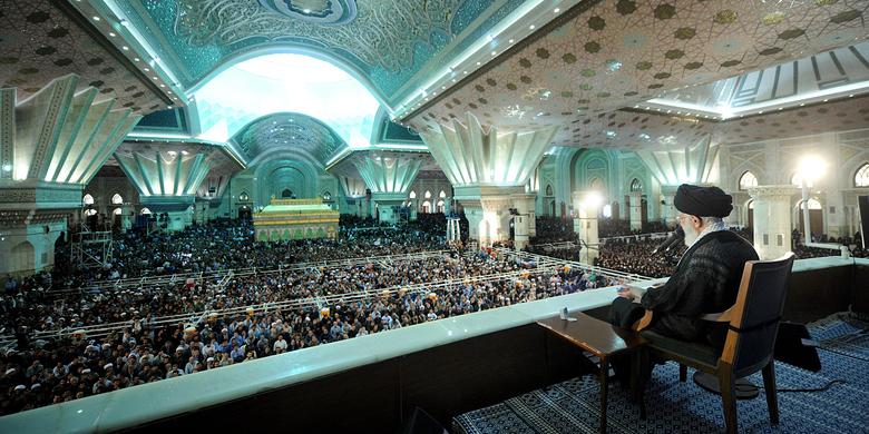 مراسم بیستوهفتمین سالگرد ارتحال امام خمینی (ره)