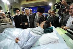 رهبر معظم انقلاب اسلامی در دیدار جمعی از جانبازان قطع نخاعی و بالای ۷۰ درصد: