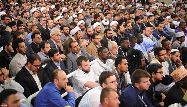دیدار شرکت کنندگان در سی و دومین دوره مسابقات بین المللی قرآن کریم