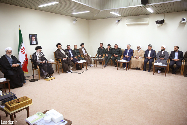 دیدار اعضای ستادهای کنگره شهدای استانهای کهگیلویه و بویراحمد و خراسان شمالی