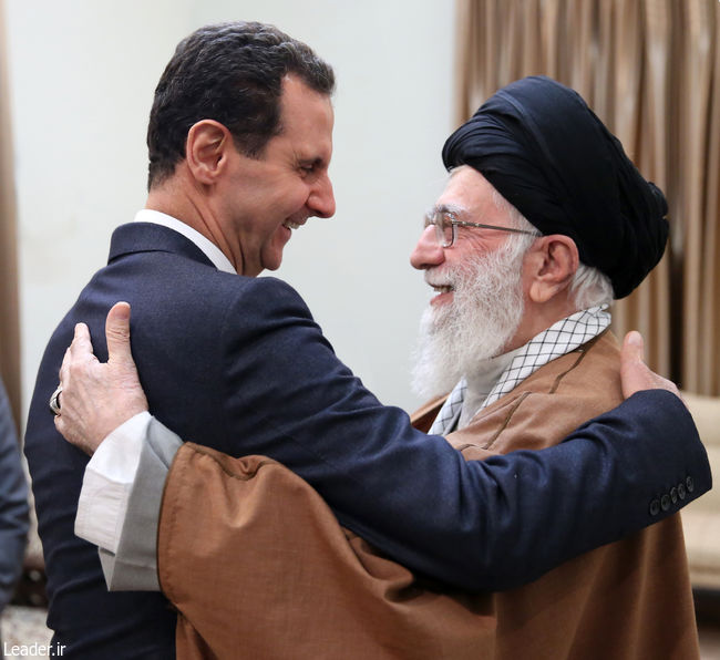 دیدار رئیسجمهوری سوریه