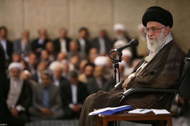 دیدار استادان، محققان و پژوهشگران دانشگاهها با رهبر معظم انقلاب اسلامی