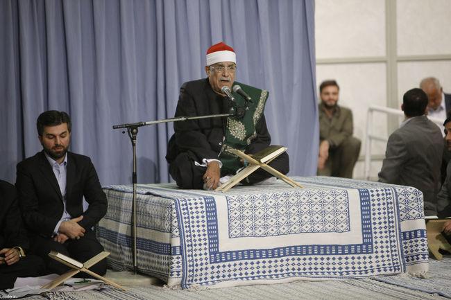 دیدار جمعی از قاریان، حافظان و اساتید قرآنی