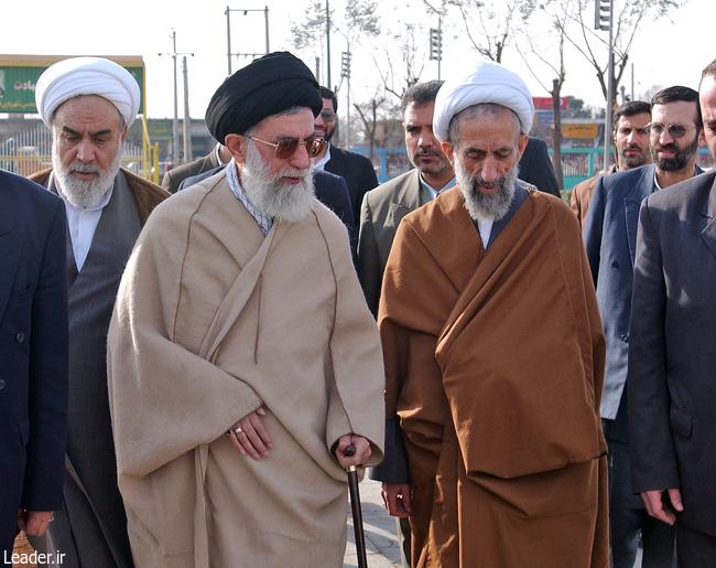 رهبر معظم انقلاب و مرحوم آیة الله هادی باریک بین