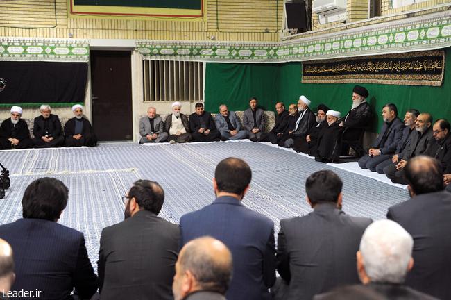 اولین شب مراسم عزاداری حضرت اباعبدالله الحسین علیهالسلام