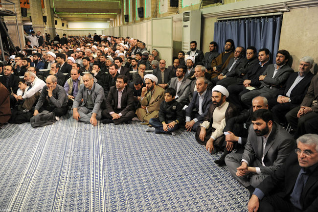 دیدار هزاران نفر از اقشار مختلف مردم تبریز و شهرهای مختلف استان آذربایجان شرقی