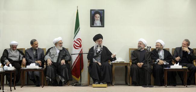 دیدار رئیس و اعضای شورای عالی انقلاب فرهنگی