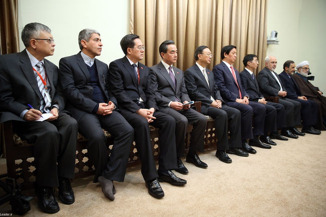 دیدار رئیسجمهوری خلق چین و هیئت همراه