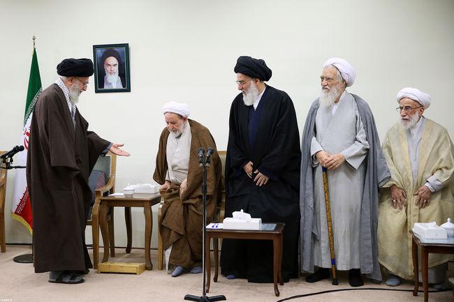 دیدار رئیس و اعضای مجلس خبرگان رهبری