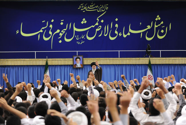 دیدار طلاب، مدیران و مدرسان حوزههای علمیه استان تهران